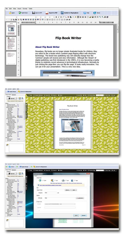 Flash Page Flip Writer