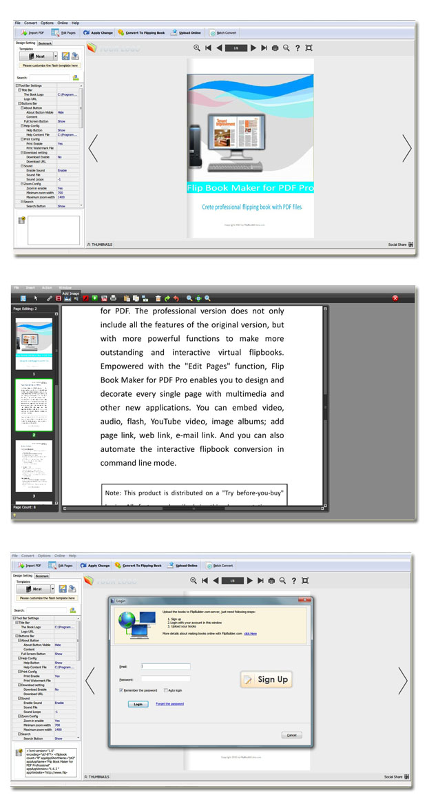 PDF to Flash Page Flip Pro