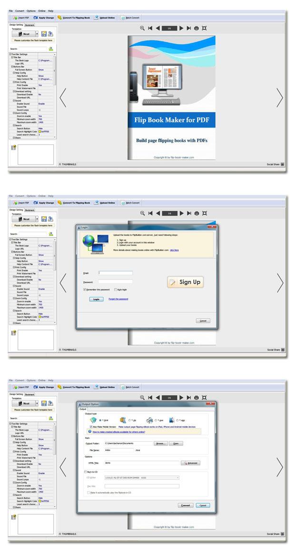 Windows 7 PDF to Flash Page Flip 2.6 full