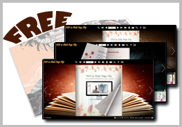 Magic Book Theme for Flash Flip E-Publication